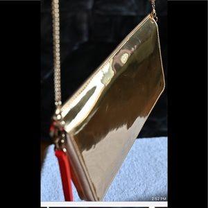 Joseph & Stacey gold purse
